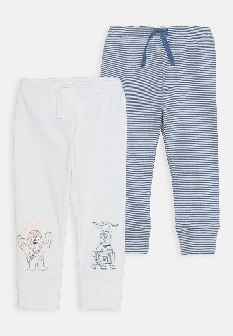 GAP - PANT 2 PACK - Leggings - Trousers - bainbridge blue