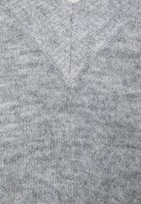 Springfield - BÁSICO PICO- - Jumper - grey mélange - 2