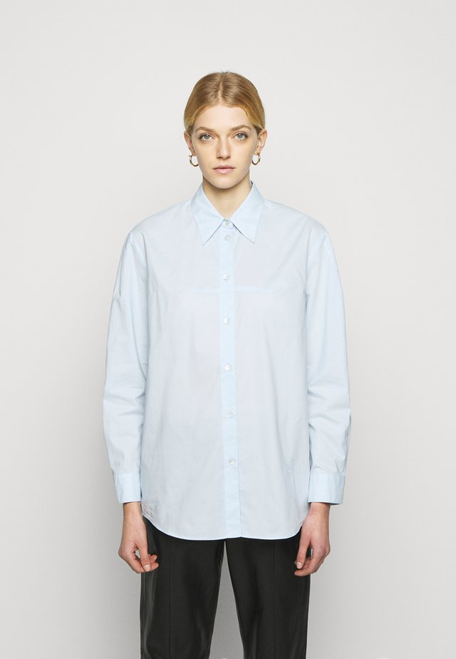 Overhemdblouse - light blue