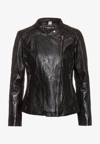 COCO - LOTTE - Leather jacket - schwarz - 4