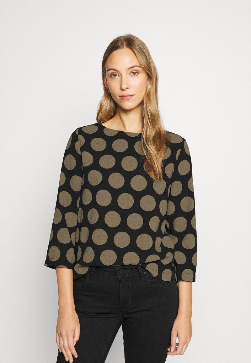 Opus - FALESA - Long sleeved top - black