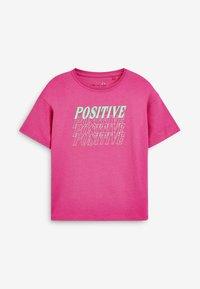 Next - SLOGAN - Pyjama set - pink - 1