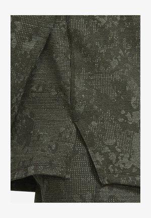 Long sleeved top - sequoia/celadon/black