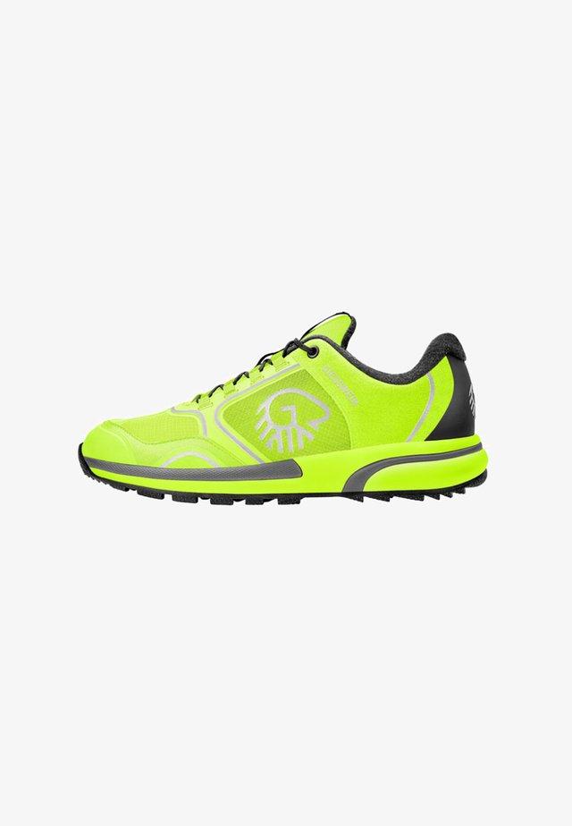 WOOL CROSS X - Sneakers laag - neon green
