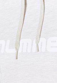 Hummel - Felpa con cappuccio - beige - 6