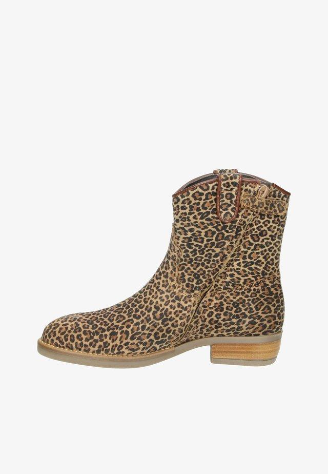 Korte laarzen - bruin