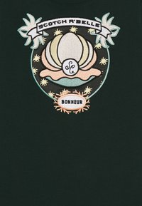 Scotch & Soda - CREWNECK WITH SHELL EMBROIDERY - Sweater - lagoon green - 2