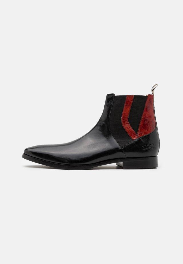 ELVIS - Korte laarzen - black