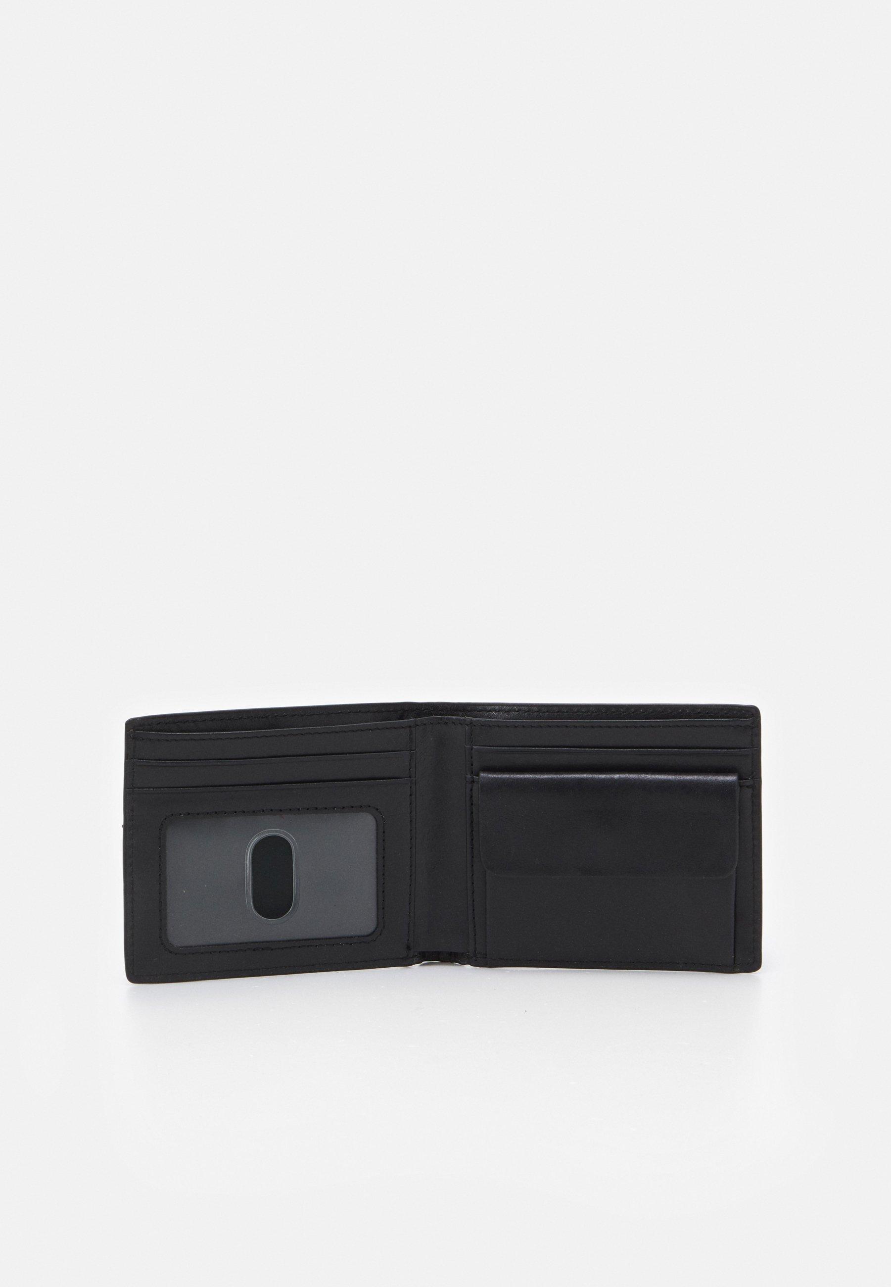 Fossil COIN POCKET BIFOLD - Geldbörse - black/schwarz - Herrentaschen u9zAb