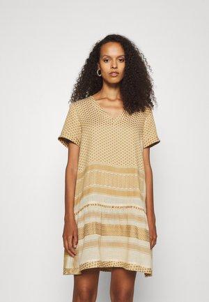 DRESS - Day dress - birch/honey mustard