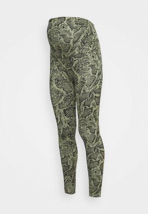 MATERNITY LEGGINGS - Leggings - khaki