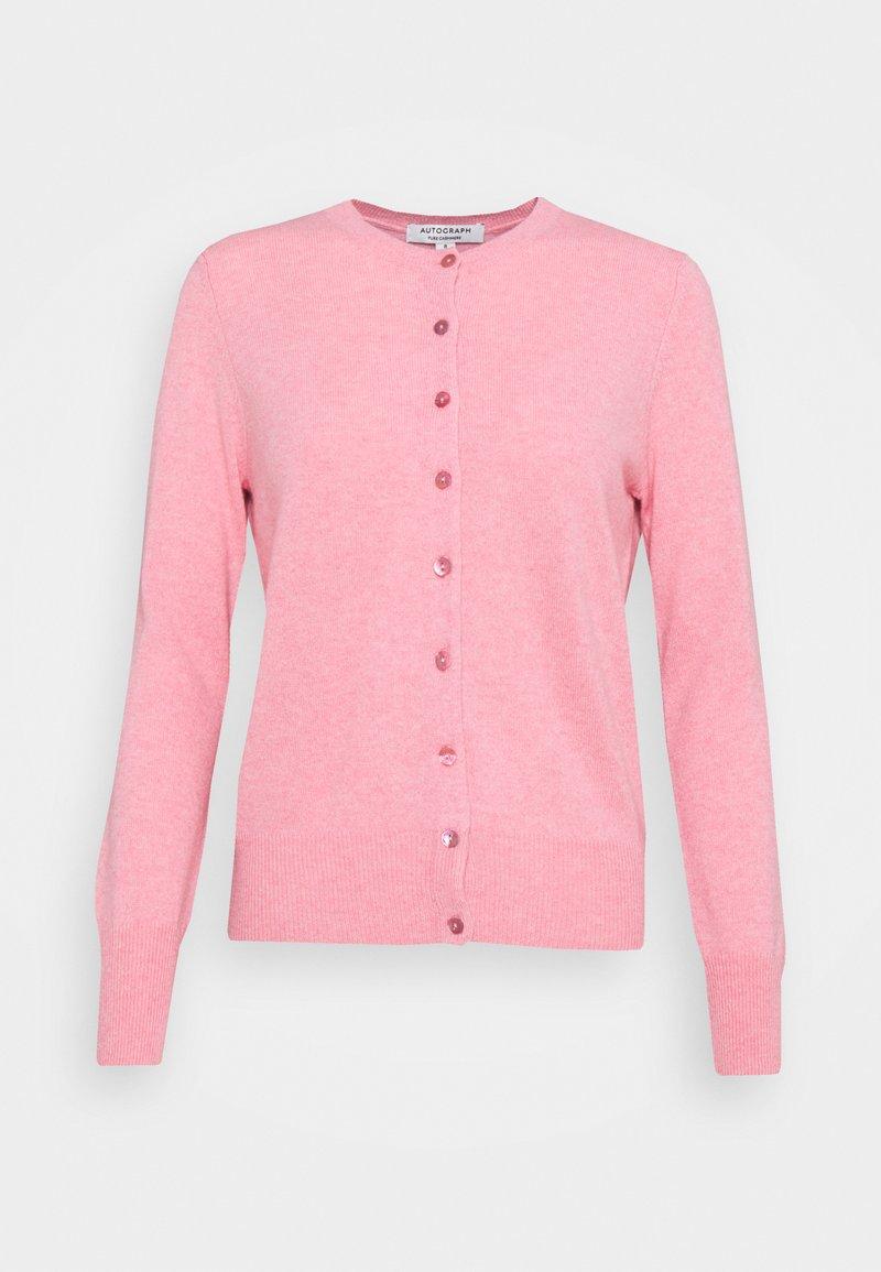 Marks & Spencer London - CREW - Cardigan - light pink