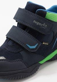 Superfit - STORM - Classic ankle boots - blau/grün - 5