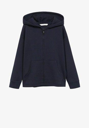 FRANCIA8 - Zip-up hoodie - marineblauw
