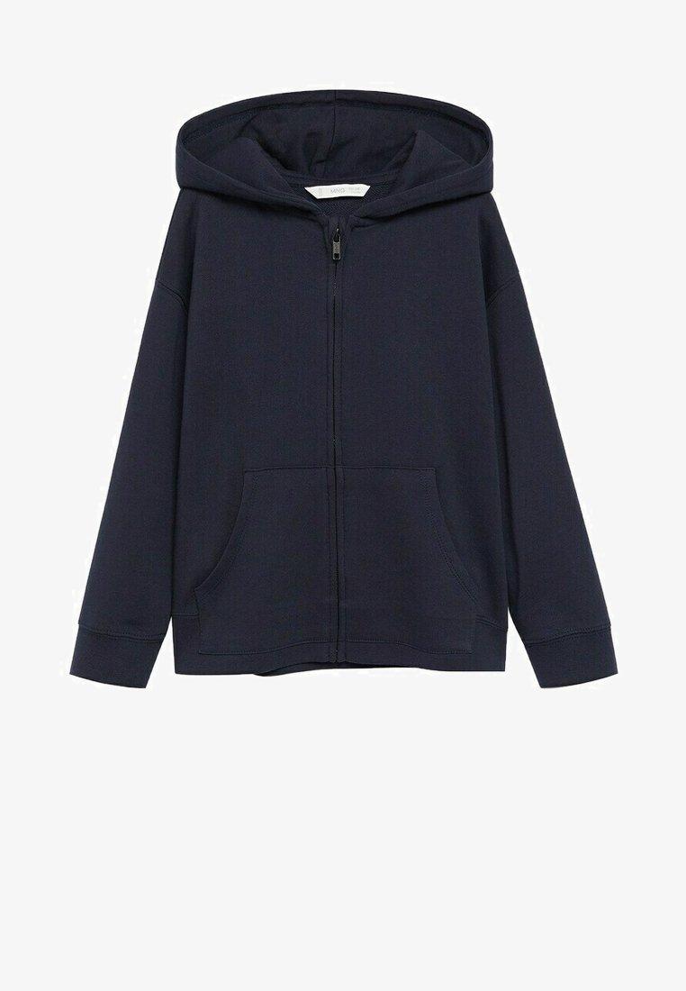 Mango - FRANCIA8 - Zip-up hoodie - marineblauw
