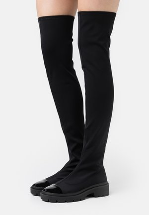 LONG WAY 2 GO KNEE BOOT - Cuissardes - black