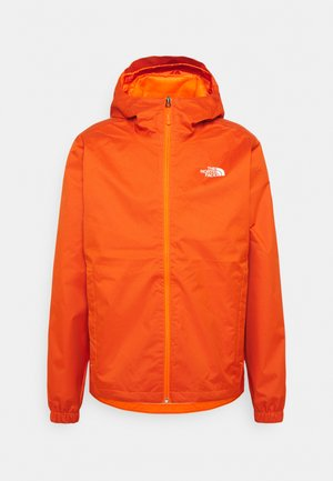 MENS QUEST JACKET - Regenjas - flame/black heather