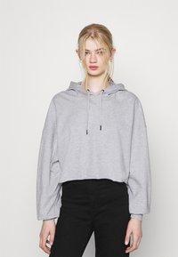 Even&Odd - Hoodie - mottled light grey - 0
