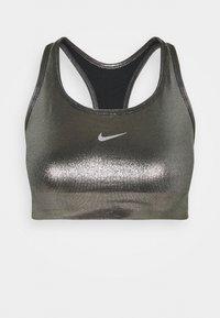 Nike Performance - BRA - Sport-BH mit mittlerer Stützkraft - black/metallic gold - 3