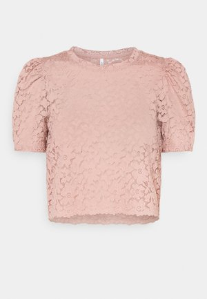 ONLNEW ALBA CROPPED PUFF - Bluzka - misty rose