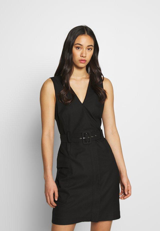 JOLEEN DRESS - Shift dress - schwarz