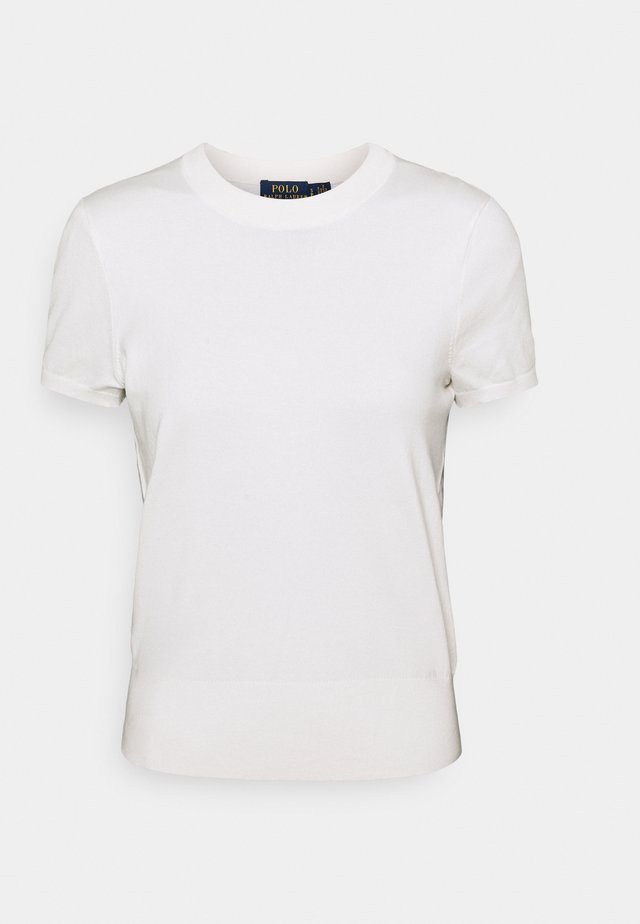 SHORT SLEEVE - T-shirt - bas - collection cream