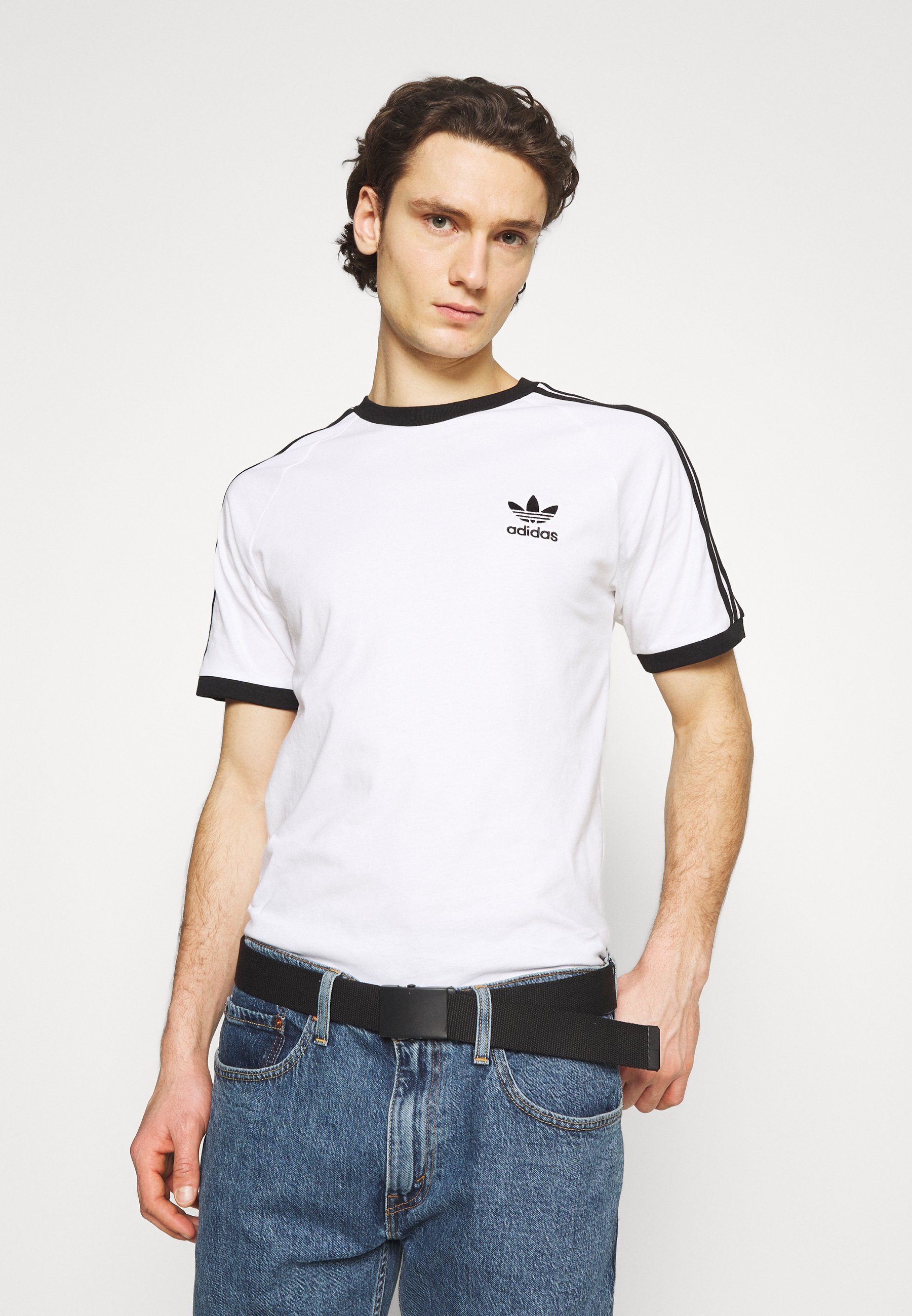 Homme STRIPES TEE - T-shirt imprimé