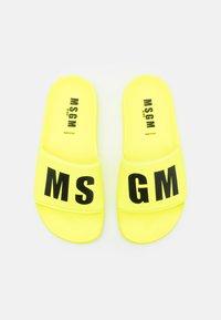 MSGM - UNISEX - Mules - neon yellow - 3