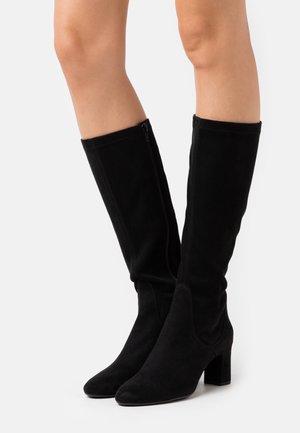 MATOS - Vysoká obuv - black paris