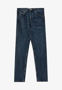 PULL&BEAR - Straight leg jeans - dark-blue denim - 5
