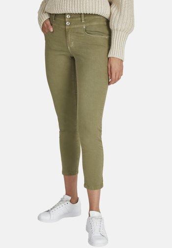 ORNELLA - Slim fit jeans - khaki