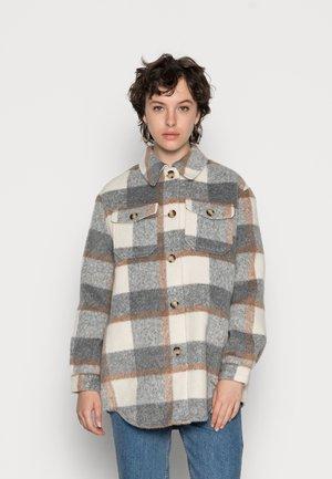 VMCALA UTILITY JACKET - Krátky kabát - light grey melange