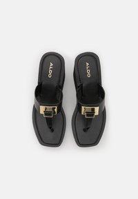 ALDO - ACARENIA - T-bar sandals - black - 5