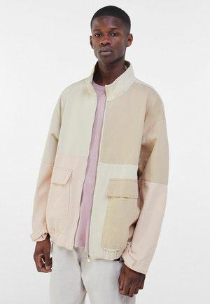 Džínová bunda - pink