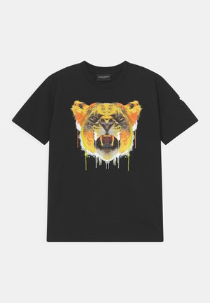 TIGER - Print T-shirt - black