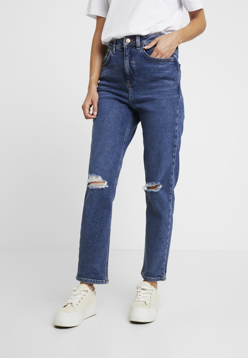 New Look Petite - MOM - Relaxed fit jeans - mid blue