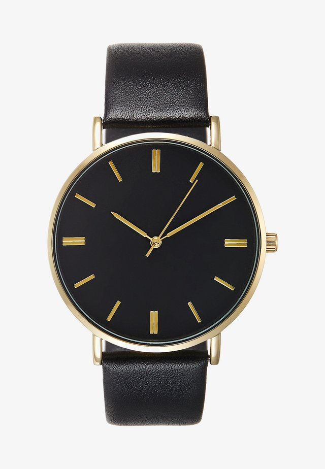 Ure - black/gold-coloured