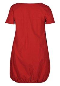 Zizzi - Day dress - red - 5