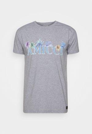 FLORENCE - T-shirt print - grey