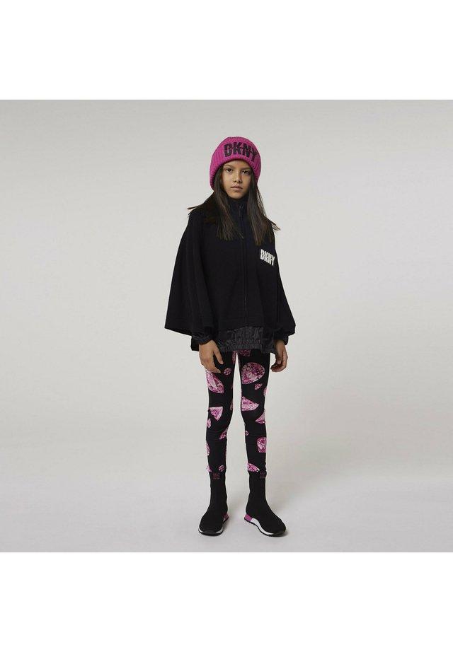 Legging - noir rose