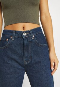 Gina Tricot - HIGH WAIST - Jeans relaxed fit - deep ocean - 5