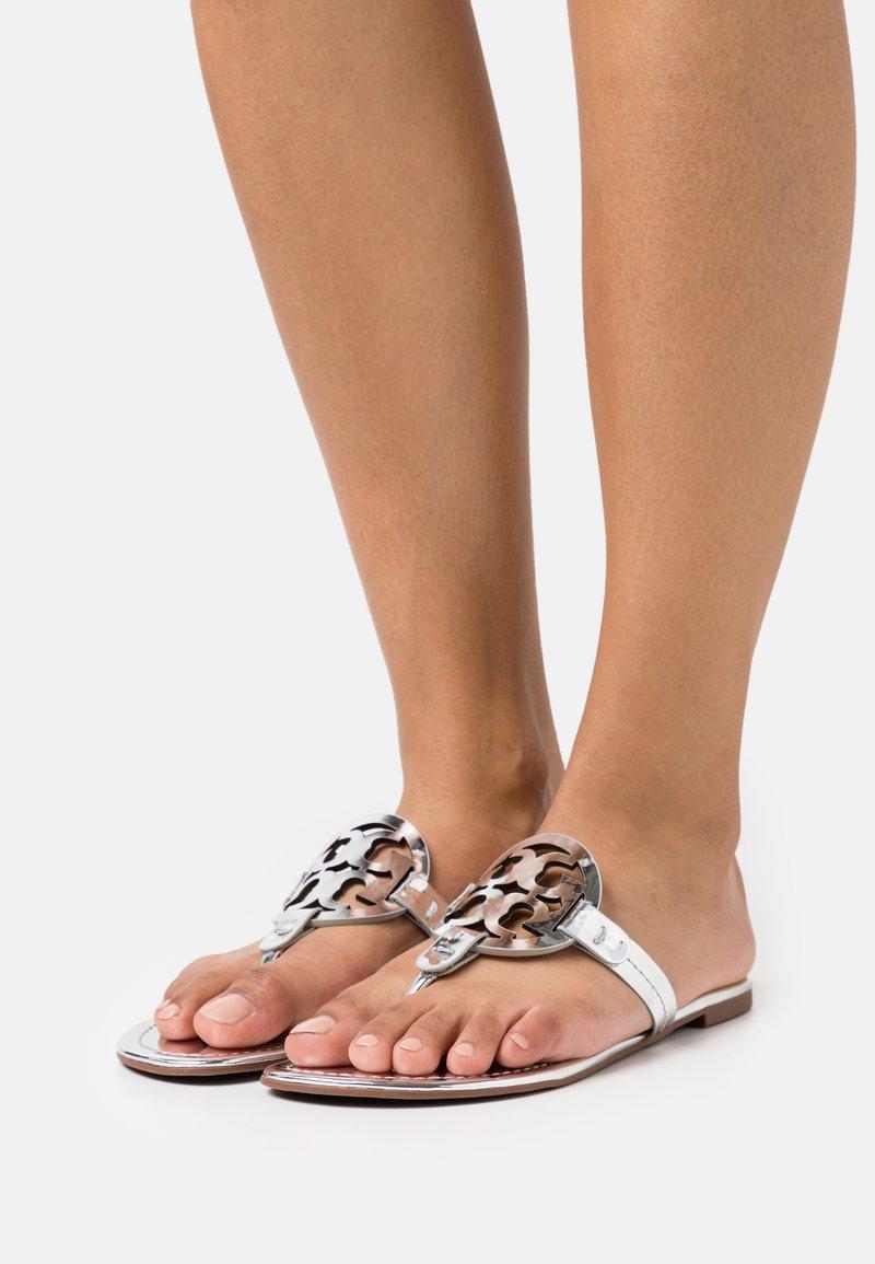 Tory Burch - MILLER - T-bar sandals - silver