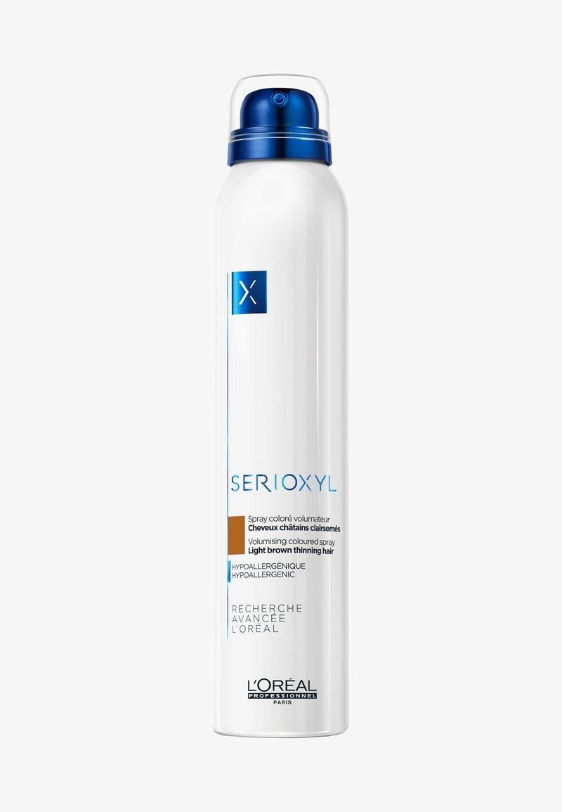 L'OREAL PROFESSIONNEL - SERIOXYL SPRAY HELLBRAUN - Hair styling - -