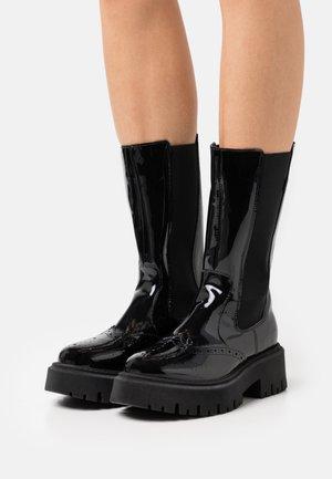 RALLY - Platform boots - black
