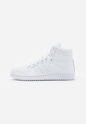 TOP TEN SPORTS INSPIRED MID SHOES - Korkeavartiset tennarit - footwear white