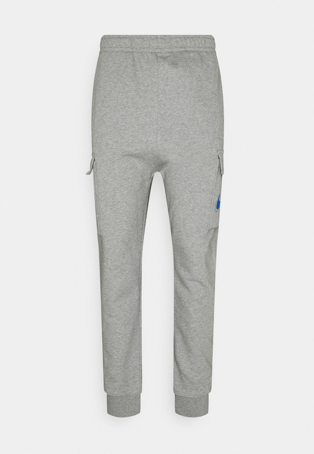 COURT PANT - Cargo trousers - grey heather