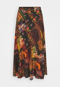 Desigual - FAL ALBURY DESIGNED BY MR. CHRISTIAN LACROIX - A-Linien-Rock - granate oscuro - 4