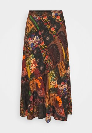 ALBURY - A-line skirt - multi-coloured