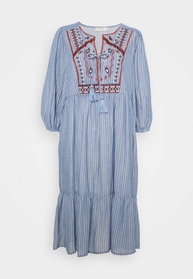 FLORANA DRESS - Korte jurk - blue