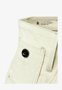 G-Star - C-STAQ 3D BOYFRIEND CROPPED - Relaxed fit jeans - ecru - 4